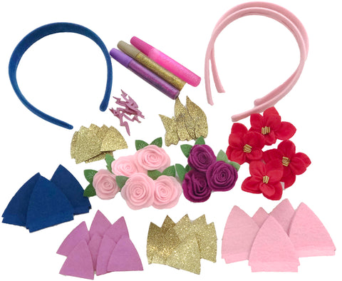 Cat Headbands Arts and Crafts Set - ROCA Toys