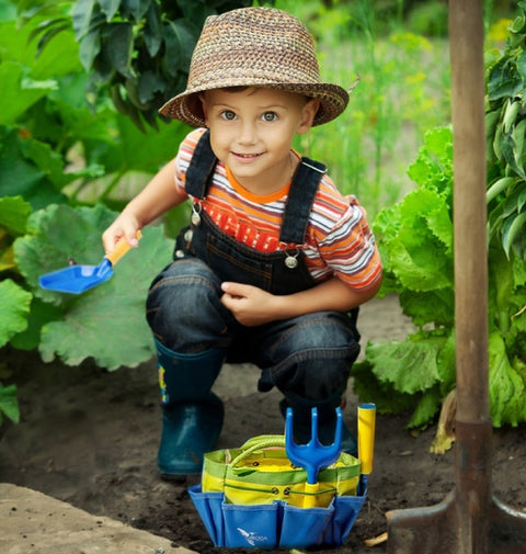 Gardening Tools with Learning Guide - ROCA Toys learning toys