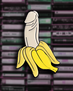 Lewd Banana Pin