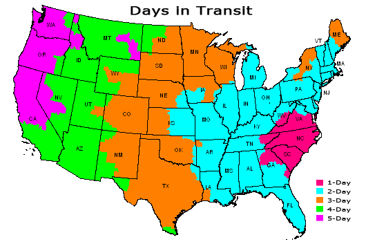 Days in Transit