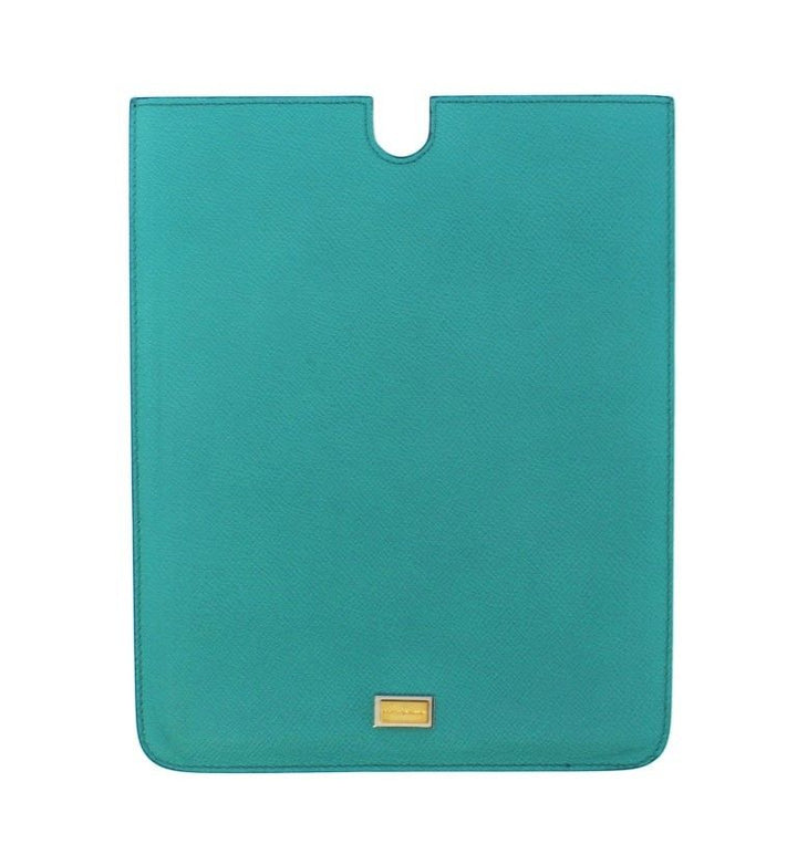 Blue Leather iPAD Tablet eBook Cover