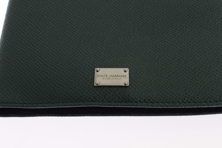 Green Leather Mini Tablet Cover Bag