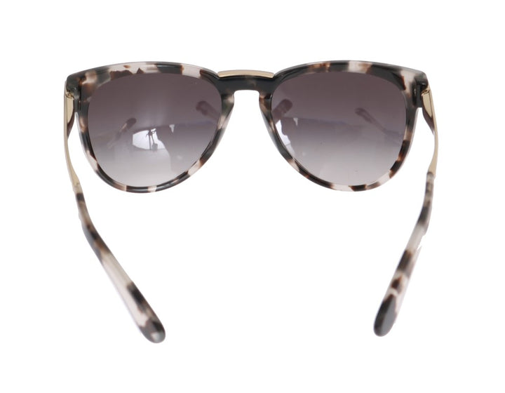 Gray Gold Frame Polarized Sunglasses