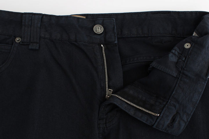 Darkblue cropped jeans