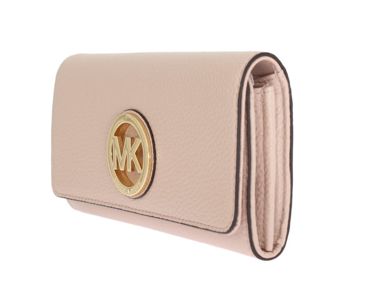 Pink FULTON Continental Wallet