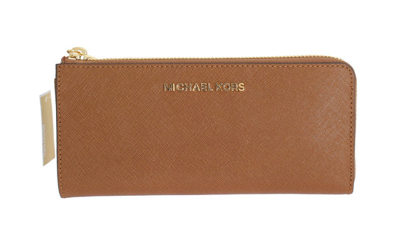 Brown JET SET TRAVEL Carryall Wallet