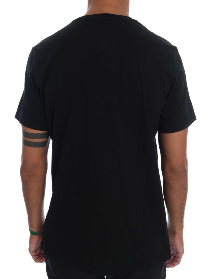 Black Motive Cotton T-Shirt