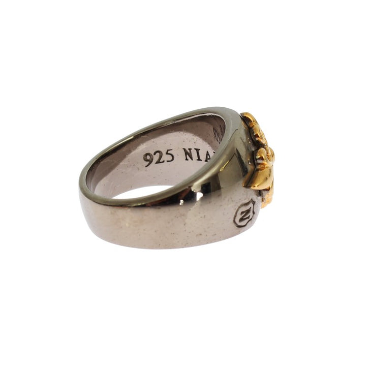 Gold Plated 925 Silver Ring