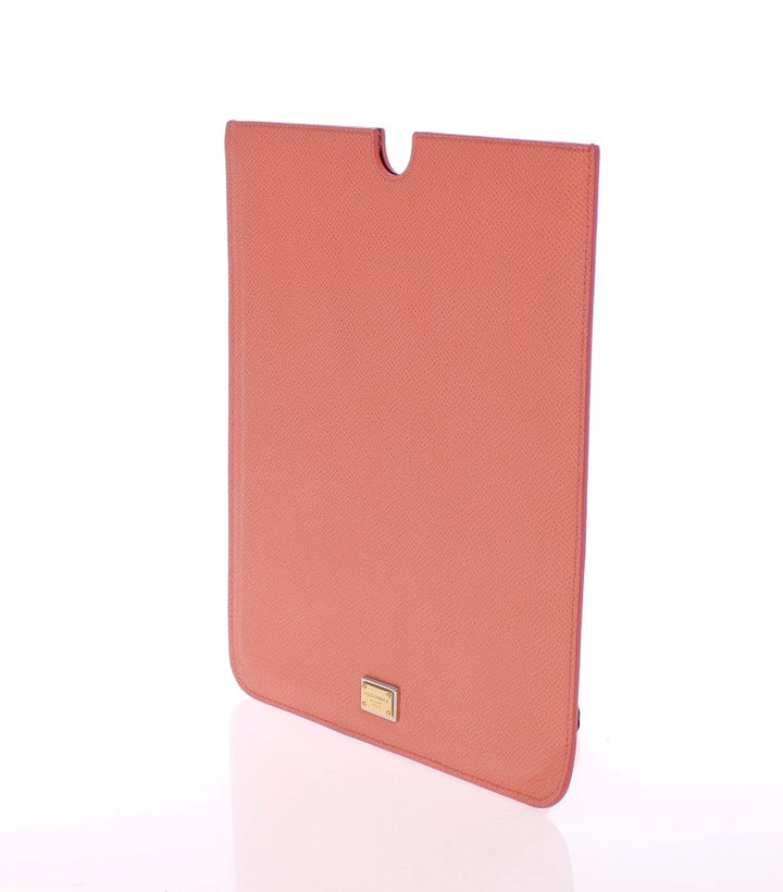 Pink Leather iPAD Tablet eBook Cover