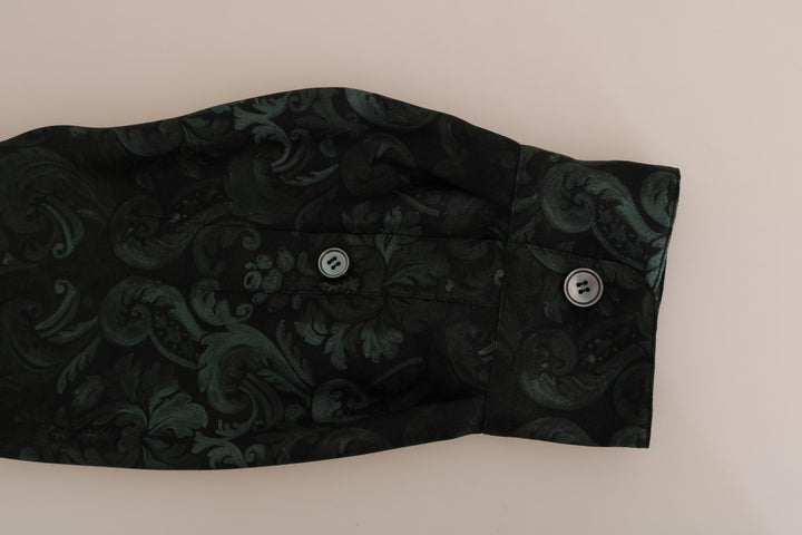 Multicolor Silk Baroque Shirt