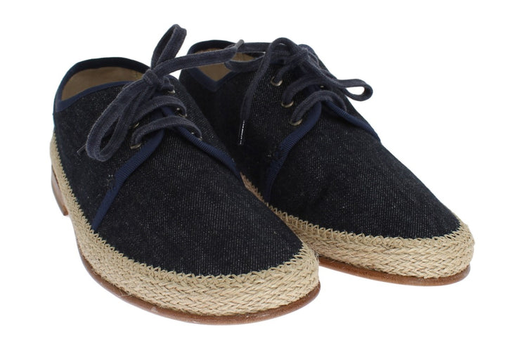 Blue Denim Dress Formal Shoes