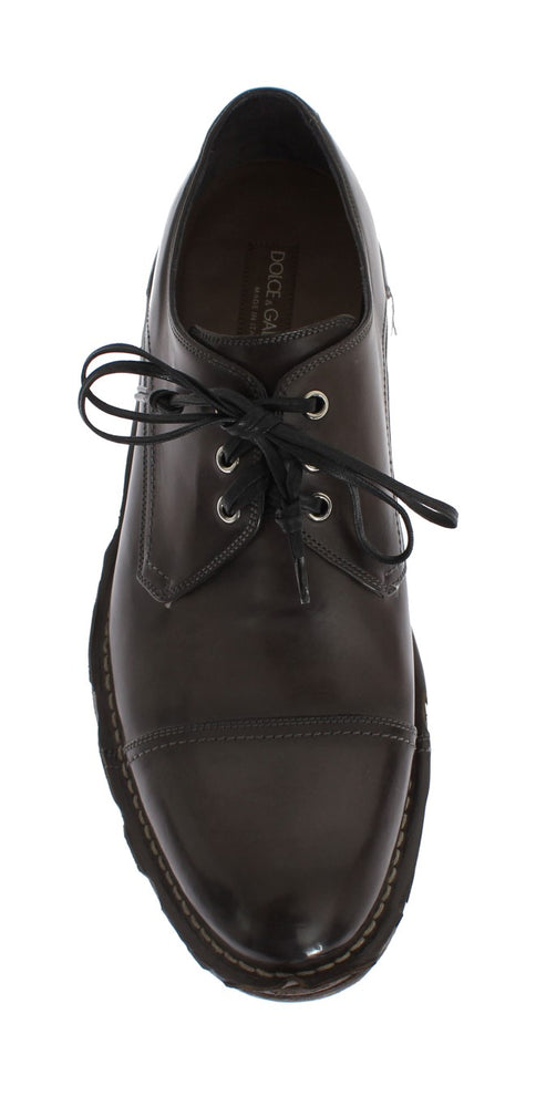 Brown Leather Dress Formal Shoes