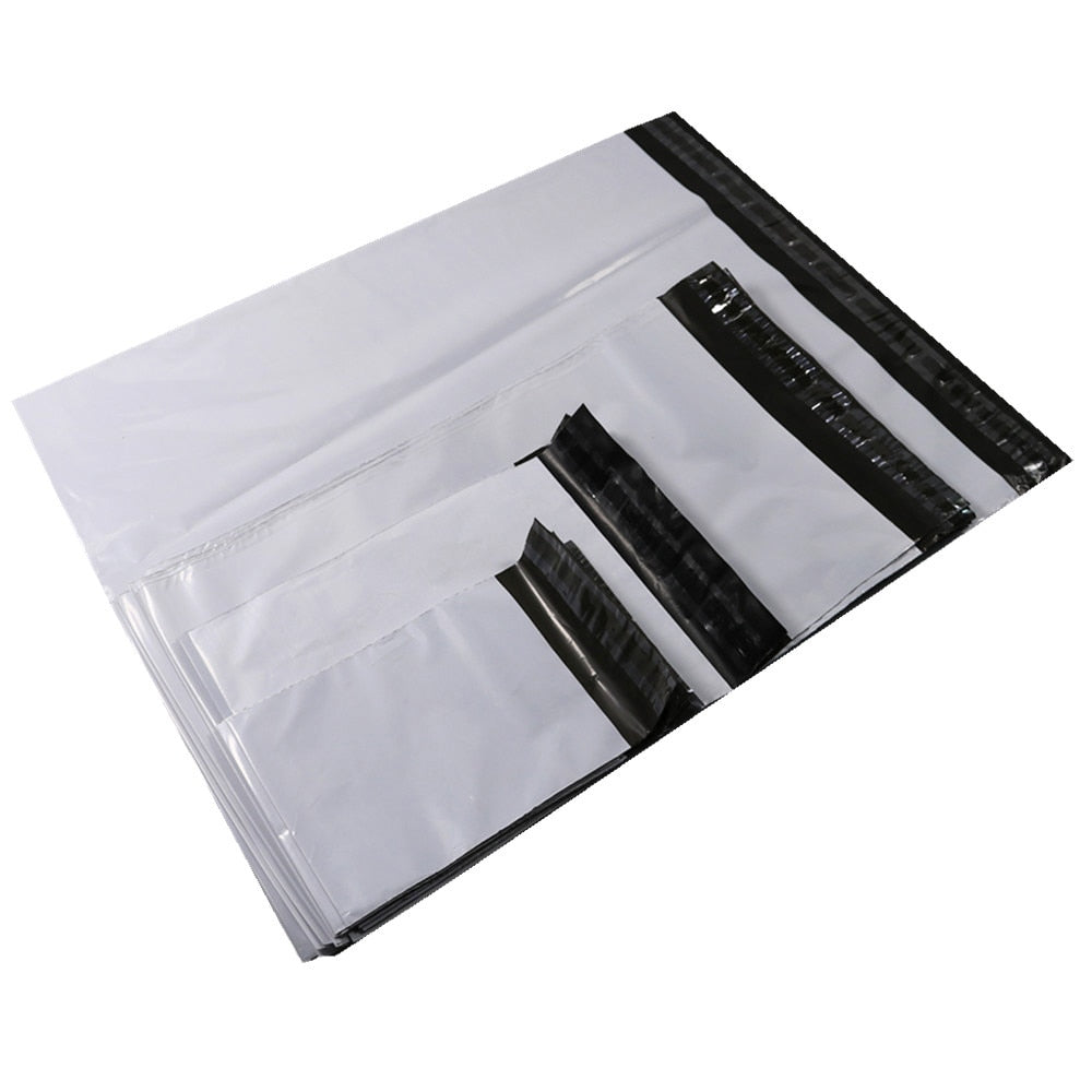 a6b6401be615 50pcs Plastic Envelope Bag Self-seal Adhesive Courier Storage Bags Pla