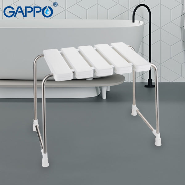 Wall Mounted Shower Seats Home Improvement Gappo Wall Mounted Shower Seats Abs Plastic And Stainless Steel Wall Bath Bench Chairs Wall Mounted Bath Chair For Bathroom
