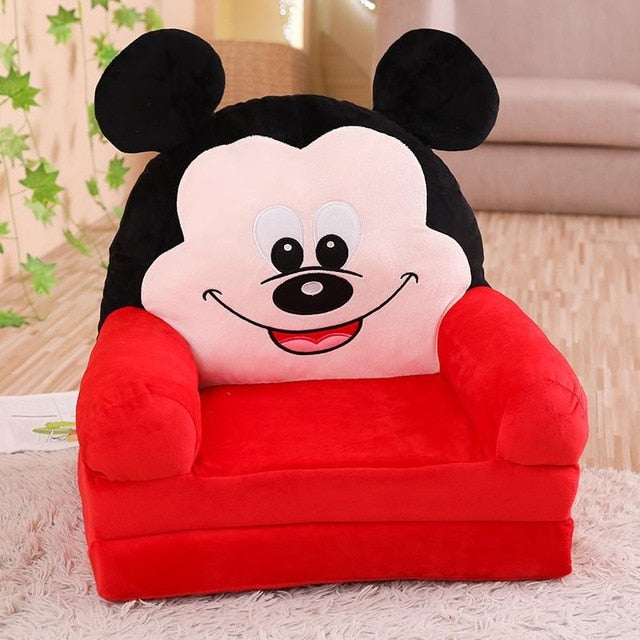 ... Childrenu0027s small sofa cartoon seat girl boy princess baby sofa chair stool lazy tatami single cushion ... & Childrenu0027s small sofa cartoon seat girl boy princess baby sofa chair ...