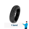 Solid Rubber Tire for Xiaomi M365 (+PRO)