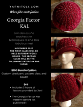 Load image into Gallery viewer, Georgia Factor KAL - Class & Pattern only $65.00
