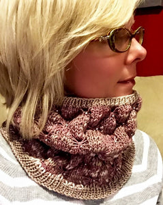 Butterflies and Beads Cowl