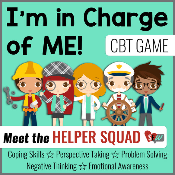 CBT School Counseling Game with The Helper Squad - Social Emotional Workshop
