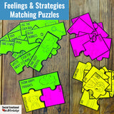 Feelings Check-In and Feelings Posters for Counseling and SEL - Social Emotional Workshop