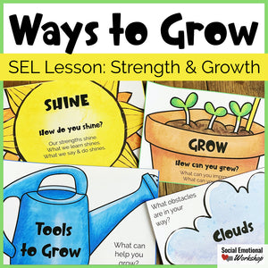 SEL Lesson: Areas of Strength and Areas for Growth - Social Emotional Workshop