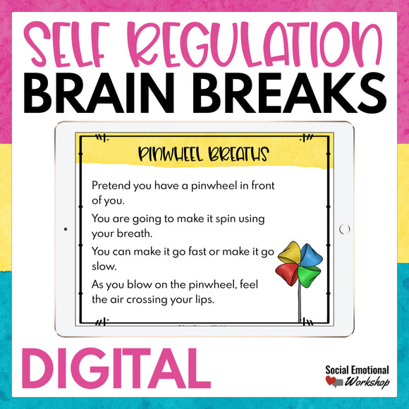 Self Regulation Digital Brain Breaks - Social Emotional Workshop