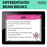 Self Regulation Digital Brain Breaks