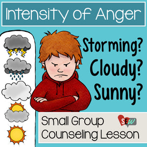 Anger Thermometer and Anger Management Activity