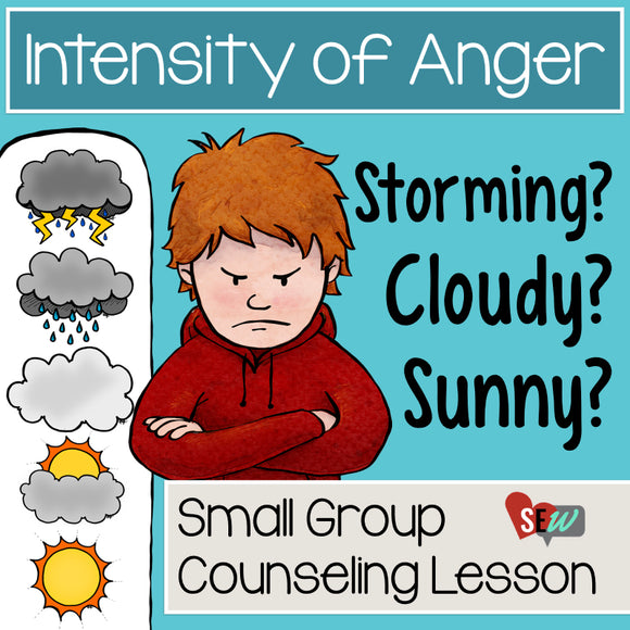 Anger Thermometer and Anger Management Activity - Social Emotional Workshop