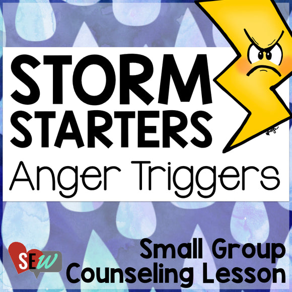Anger Triggers: Anger Management Activity and Craft - Social Emotional Workshop