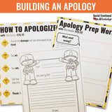 Apologies: Lesson and Activities on How, When, and Why to Say Sorry