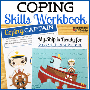 Coping Skills Activities and Workbook - Social Emotional Workshop