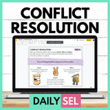 Conflict Resolution - SEL Activities for Distance Learning - Social Emotional Workshop