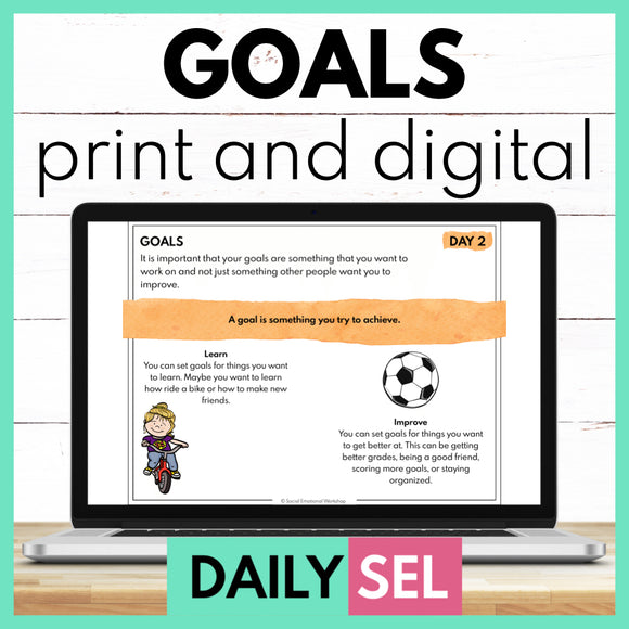 Goals - SEL Activities for Distance Learning
