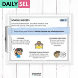 School Success Social Emotional Learning Activities - SEL for Distance Learning