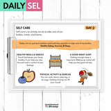 Self Care Social Emotional Learning Activities - SEL for Distance Learning