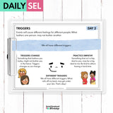 Triggers Social Emotional Learning Activities - SEL for Distance Learning - Social Emotional Workshop