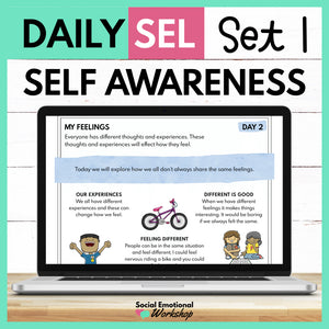 Daily Social Emotional Learning Activities - Set 1 - SEL for Distance Learning