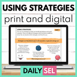 Using Strategies - SEL Activities for Distance Learning
