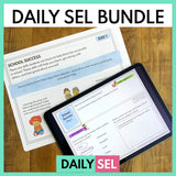 Daily SEL Activities for the Whole Year & Distance Learning - Growing Bundle