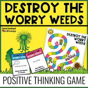 Positive Thinking Game for Small Group School Counseling