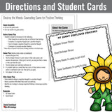 Positive Thinking Game for Small Group School Counseling - Social Emotional Workshop