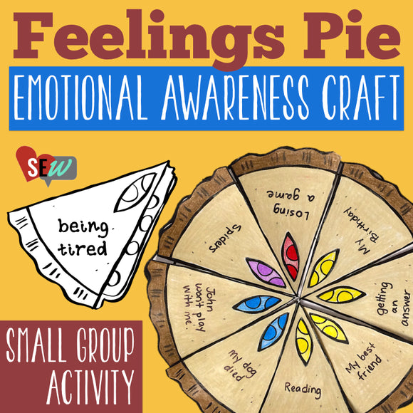 Knowing Your Feelings: Feelings Activity, Worksheet, Craft