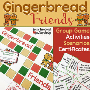 Friendship and Social Skills Activities for Winter and Christmas - Social Emotional Workshop