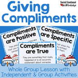 Giving Compliments: Social Skills Lesson for Giving Compliments - Social Emotional Workshop