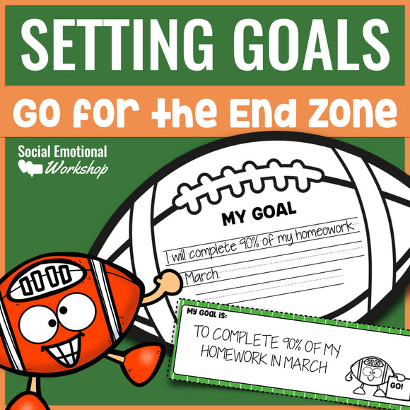Setting Goals & Monitoring Goals for Individual Student Progress - Social Emotional Workshop