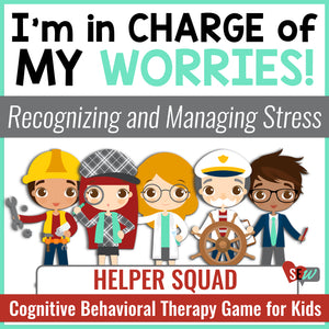 Managing Anxiety: CBT Based School Counseling Game for Worry