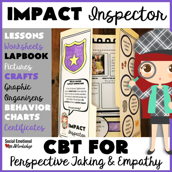 Perspective Taking and Empathy Lessons and Activities with Impact Inspector - Social Emotional Workshop