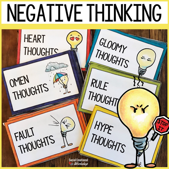 Negative Thinking Activities to Challenge Negative Self Talk