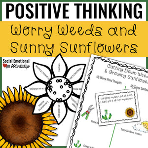 Positive Thinking Lesson and Activities for Group Counseling - Social Emotional Workshop
